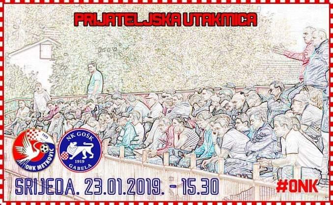 Uskoro prijateljska utakmica Metkovića i prvoligaša iz Gabele