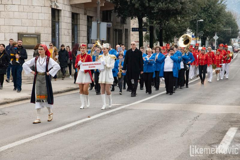 FOTO Susret puhačkih orkestara iz Metkovića i Herceg Novoga