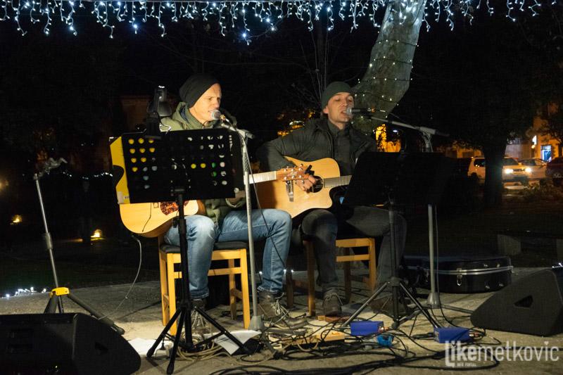 Mata i Čova otvorili su 'Božić u Neretvi' u Gradskom parku