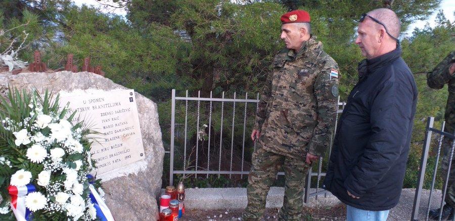 Veterani 4. gbr na obilježavanju Dana dubrovačkih branitelja