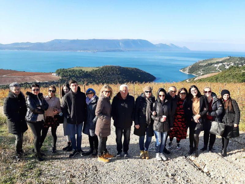 Polaznici edukacije za voditelja agroturističkog gospodarstva posjetili Vinariju Rizman