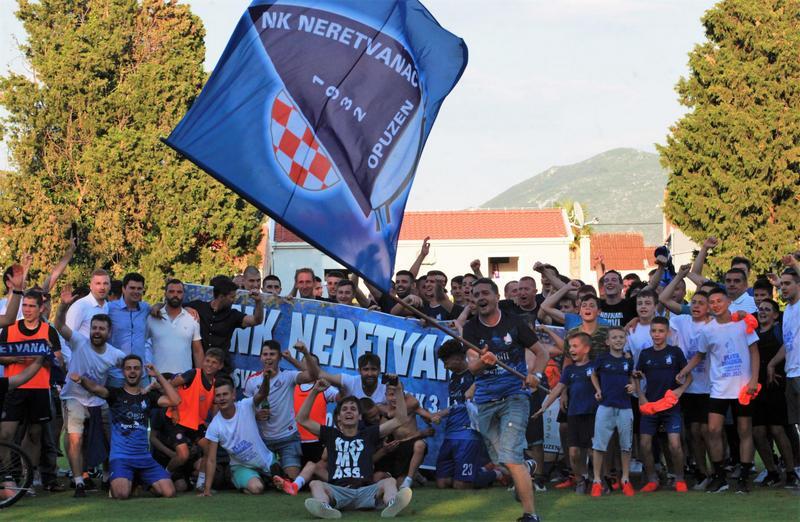 Povijesni uspjeh Neretvanca – prvak je južne skupine 3. HNL!