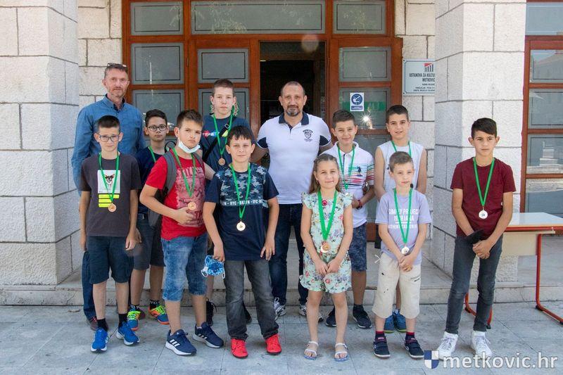 SPORTSKE IGRE MLADIH Šahist Mihael Borna Bjeliš ide na državnu završnicu u Splitu