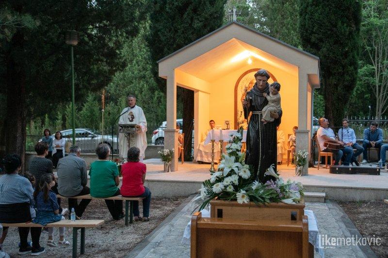 FOTO Misa uočnica sv. Ante na Dubravici