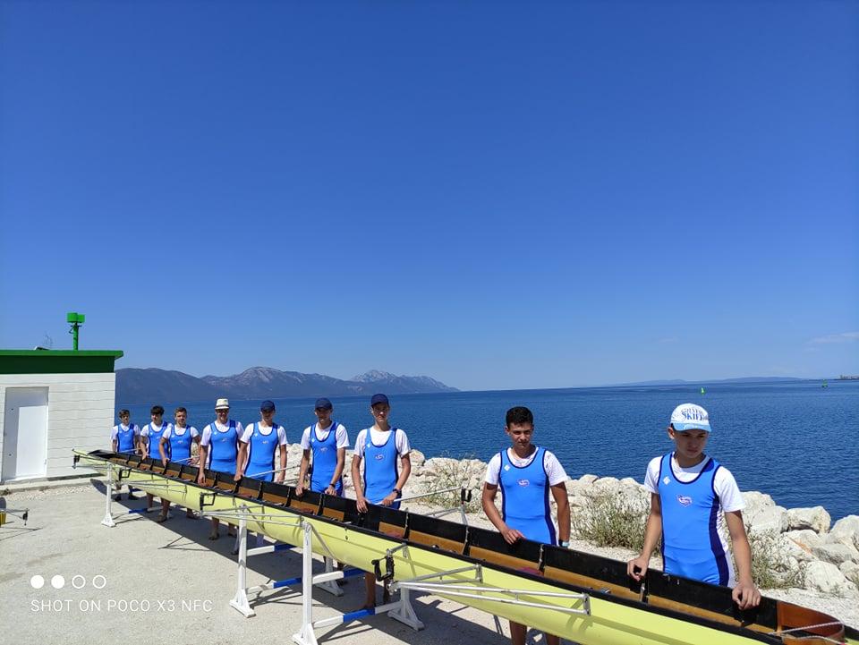 FOTO Trening na drugi način: druženje uz veslanje do Ušća